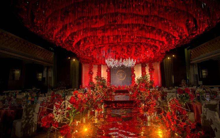 凯洲皇冠假日酒店婚宴图片