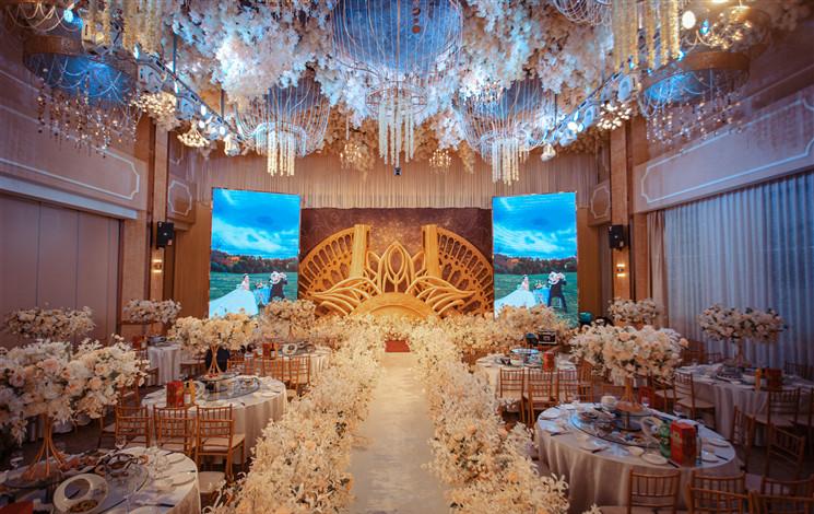 维也纳国际酒店婚宴图片