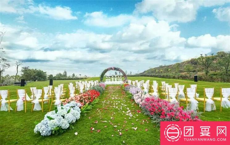 庆隆南山高尔夫球会所婚宴图片