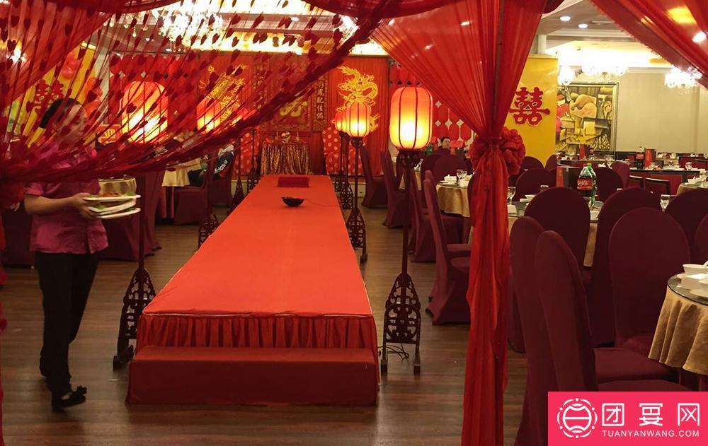 味国大饭店婚宴图片