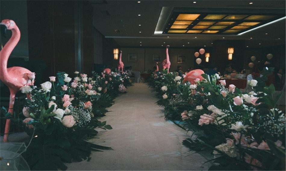华美达光谷大酒店婚宴图片