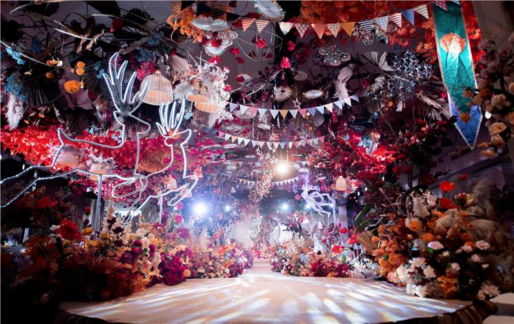 昂世宴府婚宴图片