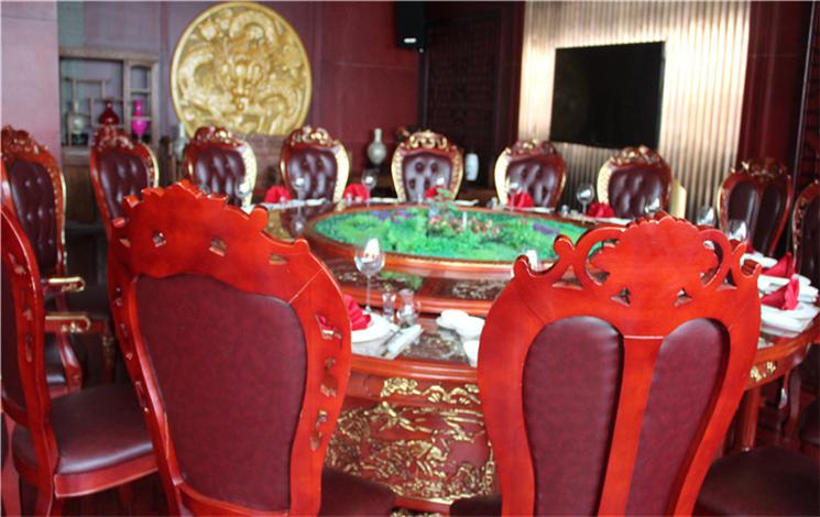 秦粤轩中餐厅 建银宾馆婚宴图片