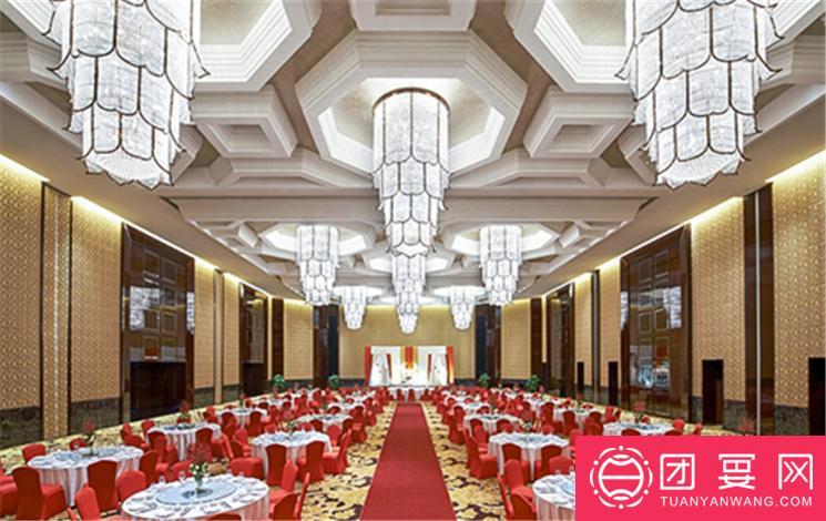 上海外高桥喜来登酒店婚宴图片
