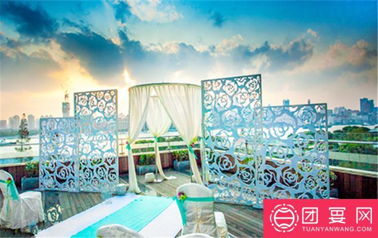 上海绿地万豪酒店婚宴图片