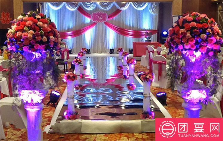 黄河京都饭店婚宴图片