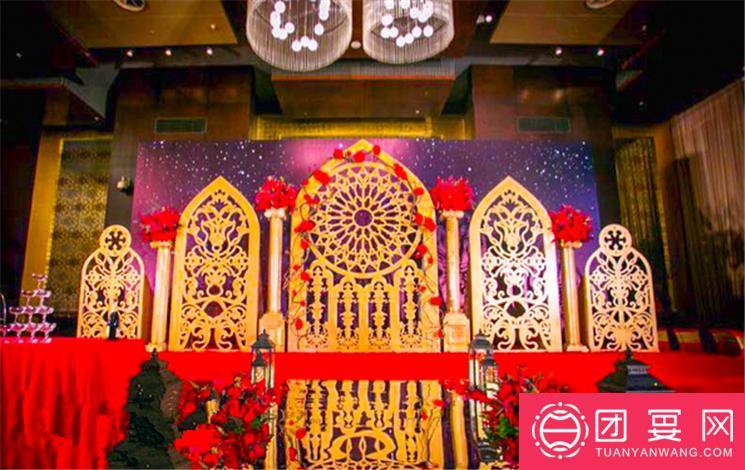 北京北辰洲际酒店婚宴图片