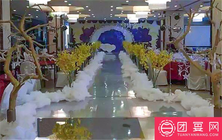 西安饭庄 鑫桥店婚宴图片