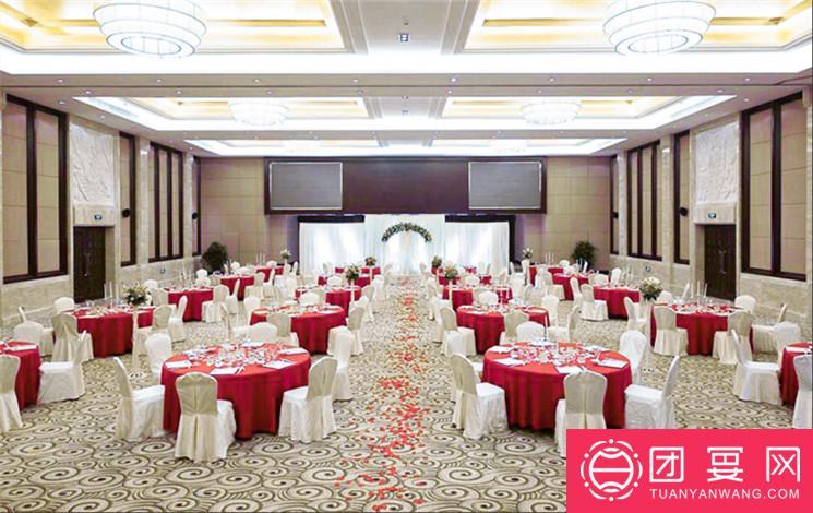 上海衡山北郊宾馆婚宴图片