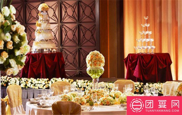 杭州运河契弗利酒店婚宴图片