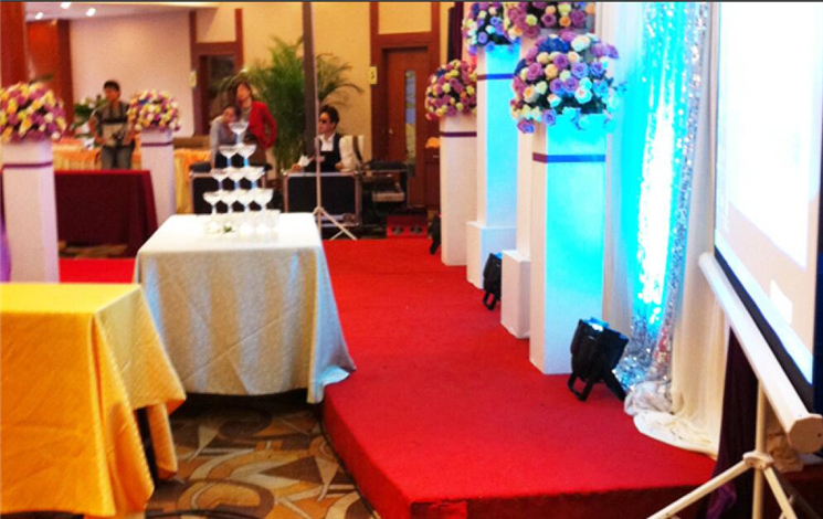 中河假日酒店婚宴图片