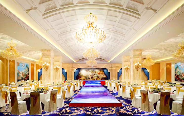 九龙宾馆婚宴图片