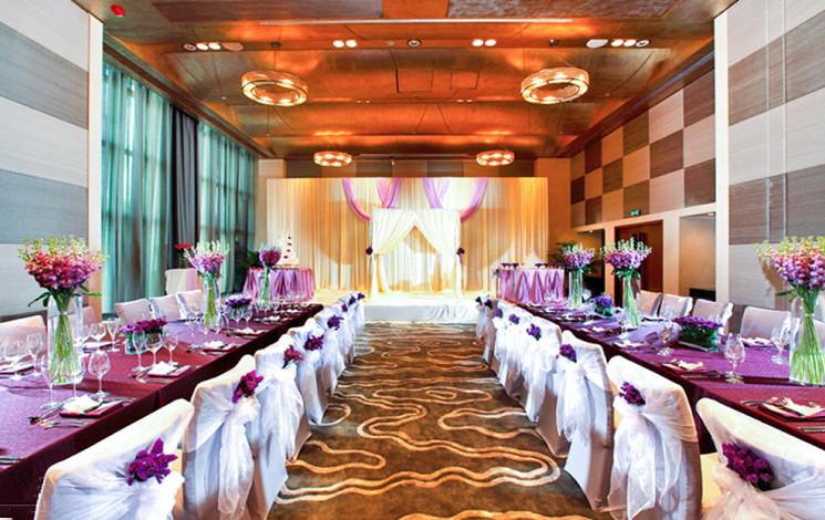 深圳益田威斯汀酒店婚宴图片