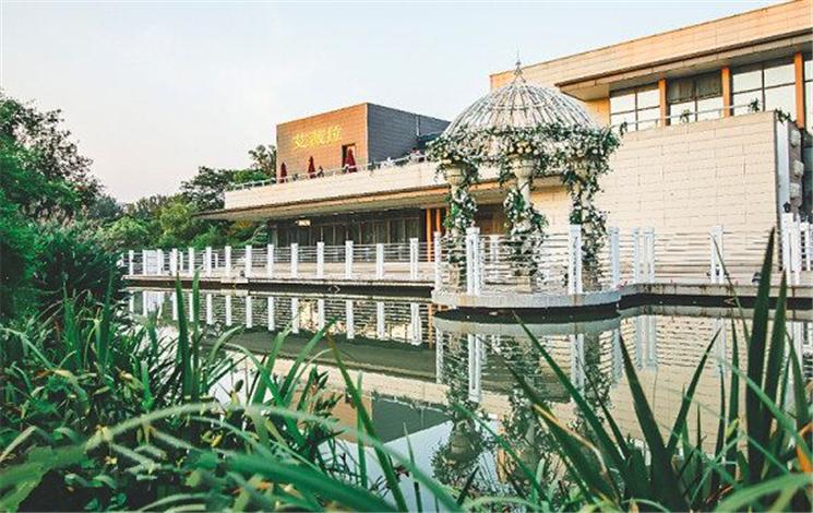 中南海滨大酒店婚宴图片